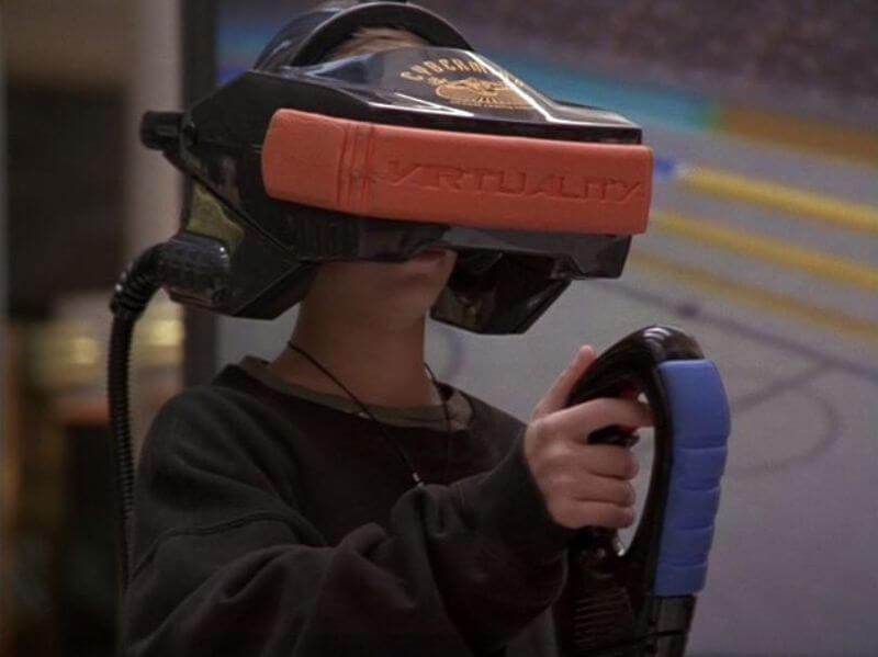 Gammeldags VR-brille
