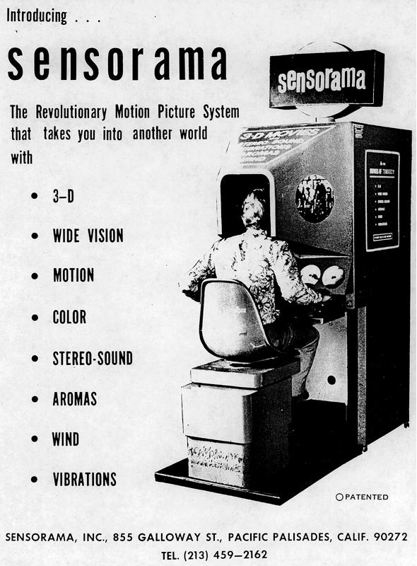 Historien om VR - Sensorama