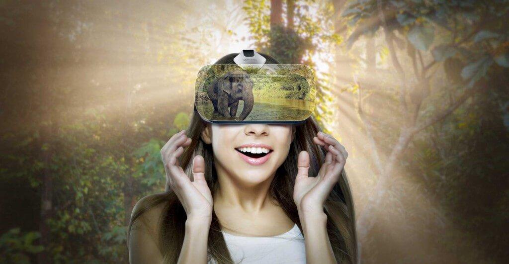 VR oplevelse samsung gear vr