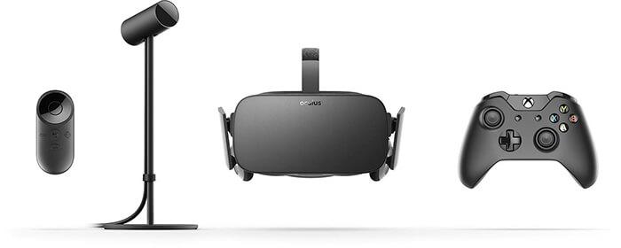 oculus rift indhold - hvad medfølger