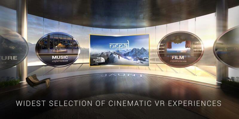 bedste VR apps Jaunt VR